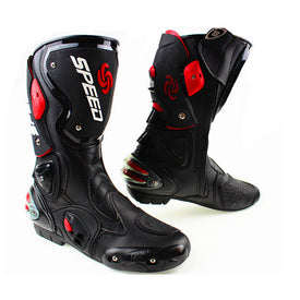 Motorcycle Boots Pro Biker SPEED Riding Shoes Motocross shoes Microfiber Leather Boot botas Motorcycle boots