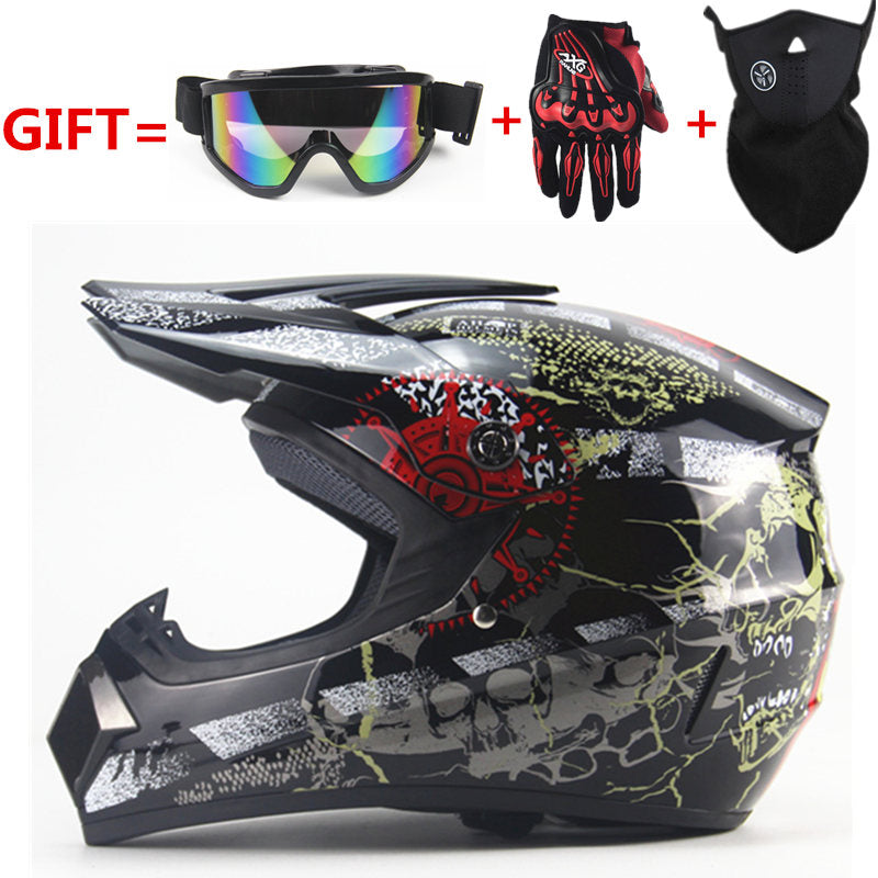 FREE SHIPPING motorcycle Adult motocross Off Road Helmet  ATV Dirt bike Downhill MTB DH racing helmet cross Helmet  capacetes - Trivoshop