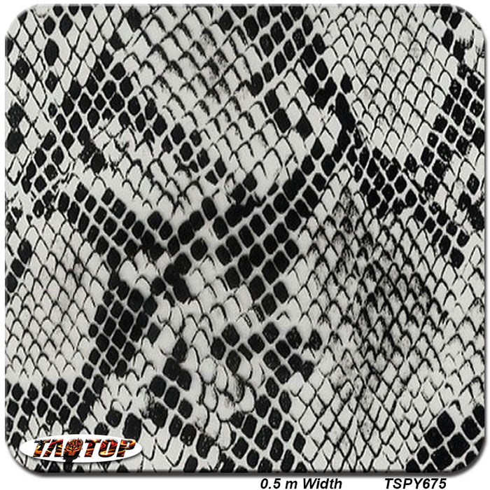 photograph about Printable Hydrographic Film known as TSPY675 Clean deisgn Best high quality patterngrey snake pores and skin H2o Go Printing Movie Hydrographic Movie - Trivoshop