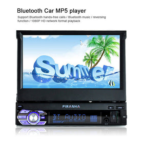 digital display Retractable Screen Car mp4 mp5 Player