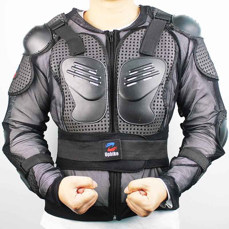 Motorcycle Jacket Body Armor Spine Chest Protective Jackets Gear Full Body Protection Motocross Motorcycle Jacket - Trivoshop
