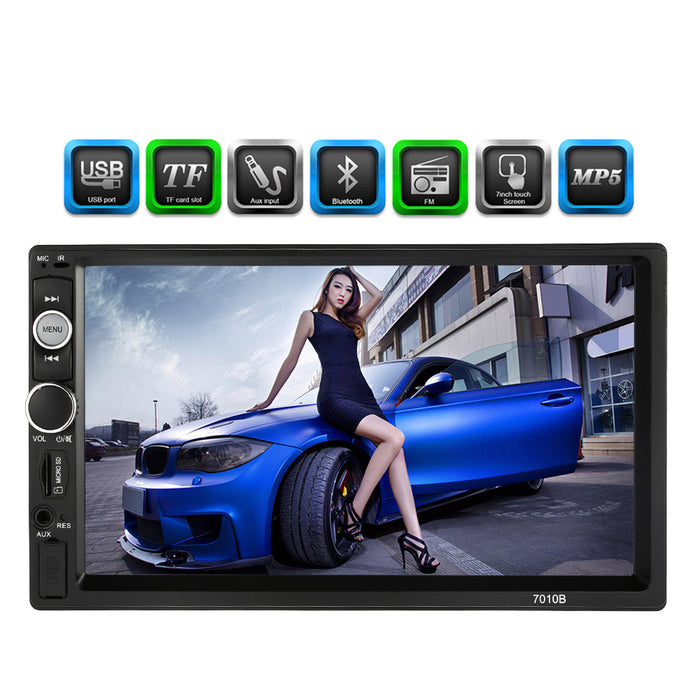 Hot Sale 7 Inch 2 Din Multimedia HD Bluetooth Car AutoRadio MP5 Player For BMW e46/Opel Astra H/VW/Passat