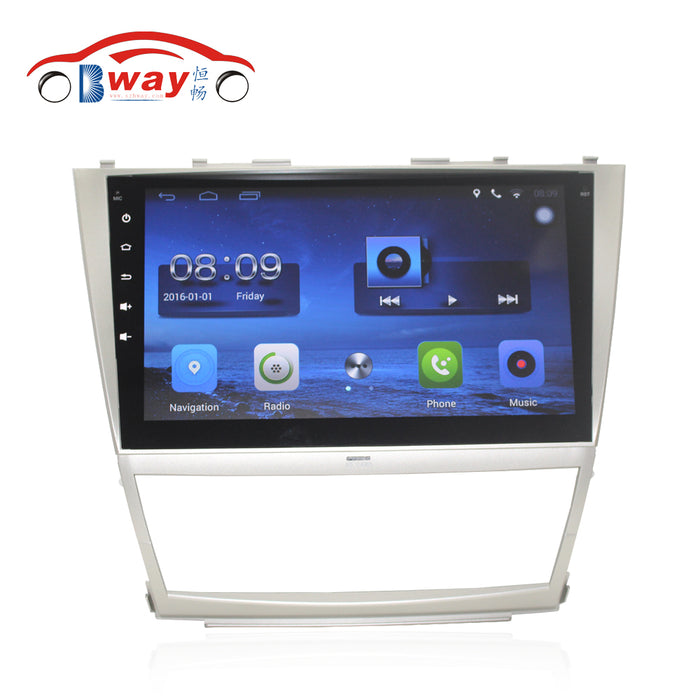 Free shipping 10.2. Car radio for Toyota Camry 2006-2011 Quadcore Android 6.0 car dvd with GPS,1 G RAM,16G iNand,steering wheel - Trivoshop