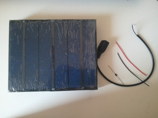 Solar panel 3.5W 6V 580MA Top qualtiy polycrystalline pv cell panel for DIY solar charger.Give USB & diodes for free