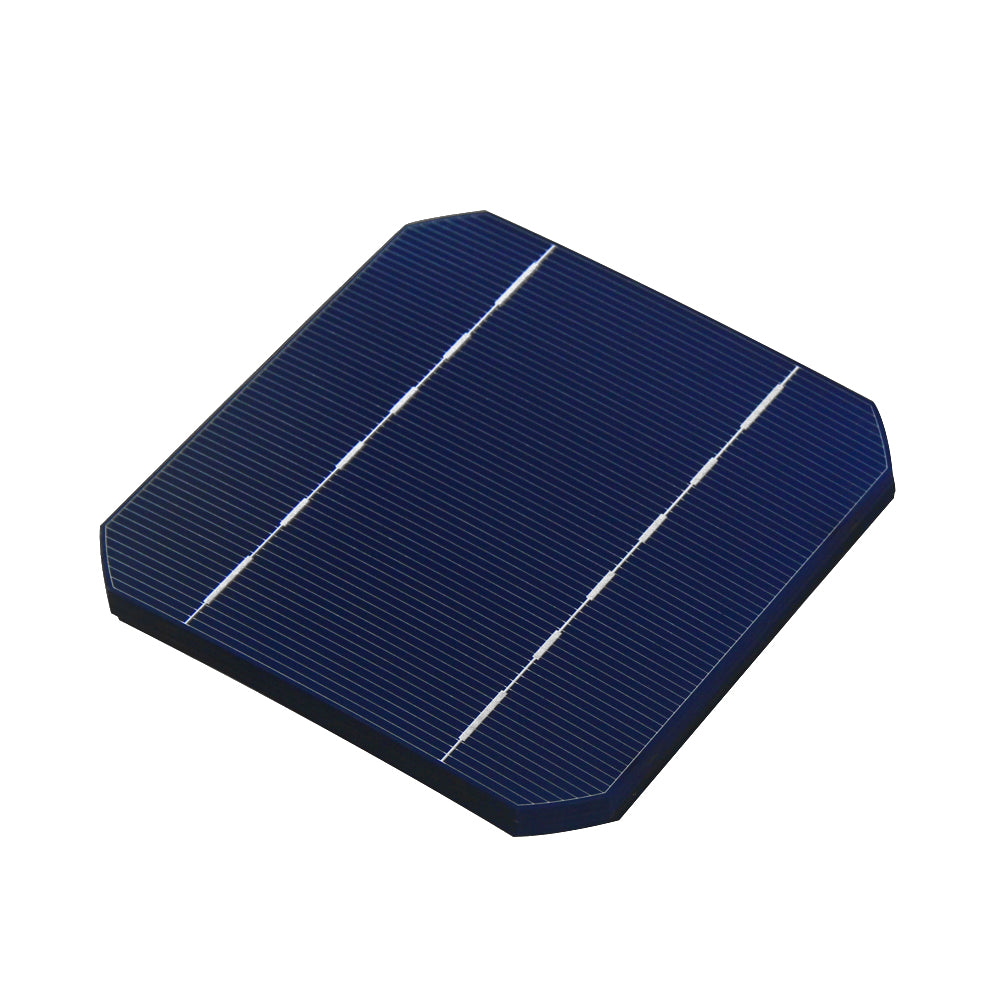 100W DIY Solar Panel Kit 40Pcs Monocrystall Solar Cell 5x5 With 20M Tabbing Wire 2M Busbar Wire and 1Pcs Flux Pen - Trivoshop.com