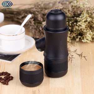 Manual Coffee Maker Portable Brewer Drinkware Compact Manual Espresso Maker Home Office Outdoors Coffee Making Tools Helper