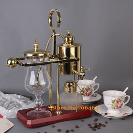 J design water drop Royal balancing siphon coffee machine/belgium coffee maker syphon vacumm coffee brewer - Trivoshop