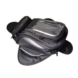 Motorcycle Tank Oil Fuel Bag Magnet Motorbiker Oxford Waterproof GPS Saddle bags TANK BAG Luggage BIG View Area