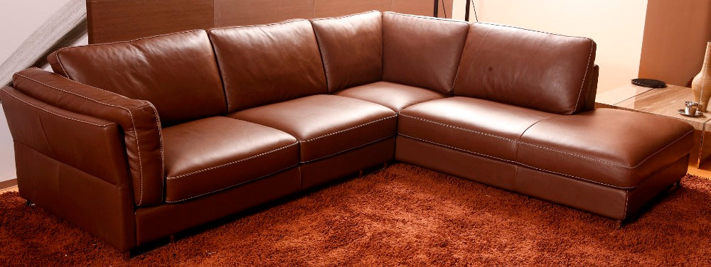 Leather sofa - Trivoshop