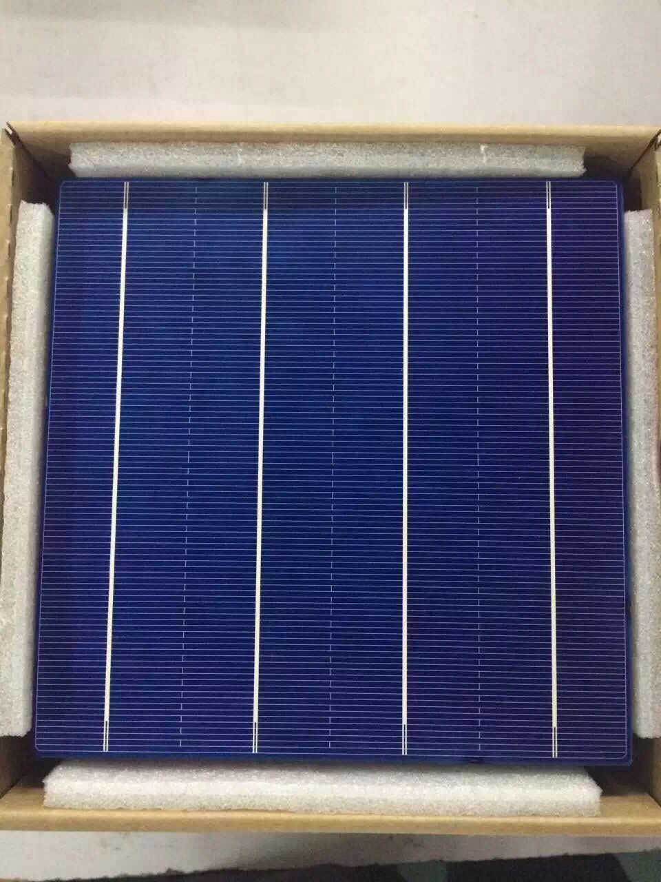 10 Pcs 45W 156MM Efficiency Photovoltaic Polycrystalline Silicon Solar Cell 6x6 Prices Cheap Grade A For DIY PV Poly Solar Panel - Trivoshop.com