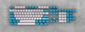 MAXKEY ABS Double Shot Keycaps SA Profile 119 121 Keys for Gaming Mechanical Keyboard
