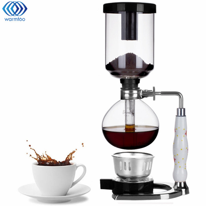 Glass Siphon Coffee Maker