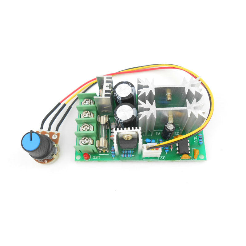 DC motor speed regulator