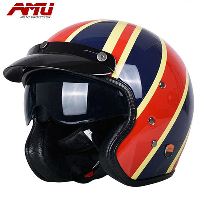 Authentic AMU motorcycle helmet
