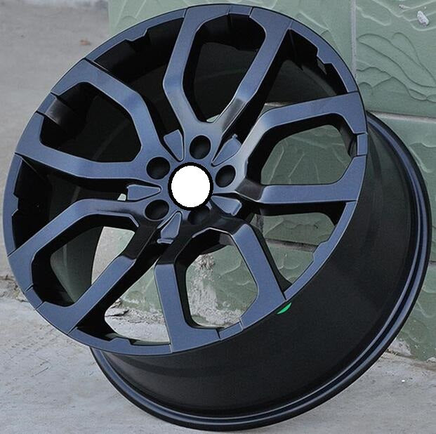 Matte Black 19x9.0 5x108 Car Aluminum Alloy Wheel Rims fit for Land Rover - Trivoshop