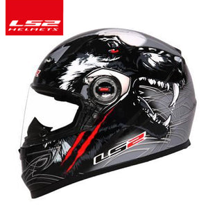 100% original LS2 FF358 full face Racing Motorcycle Motocross safety helmet ECE Certification man woman casco moto casque - Trivoshop.com