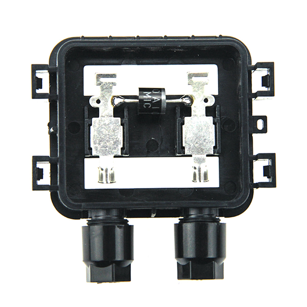 10 Pcs PPO Solar Panel Junction Box 10W-50W Waterproof IP65 For Wire Connection - Trivoshop.com