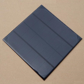 Wholesale 4.5W 6V Solar Cell Monocrystalline Solar Panel Solar Module DIY Solar Charger165*165*3MM 10pcs/lot Fast Shipping