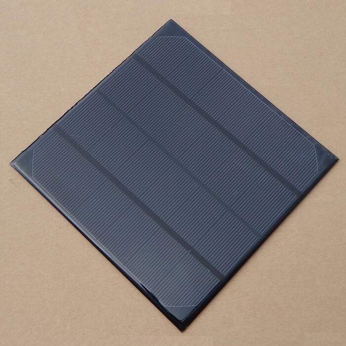 Wholesale 4.5W 6V Solar Cell Monocrystalline Solar Panel Solar Module DIY Solar Charger165*165*3MM 10pcs/lot Fast Shipping - Trivoshop