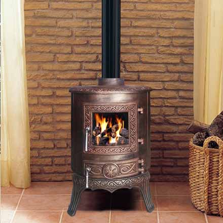 high quality indoor small size fireplace for sale two colors
