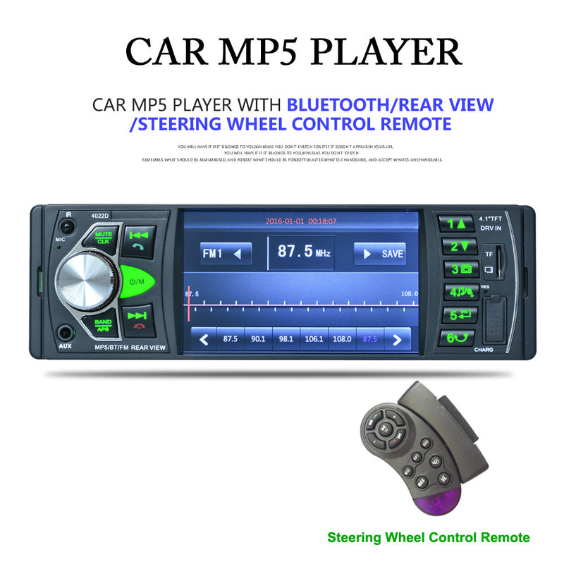 Car Audio MP5 Player