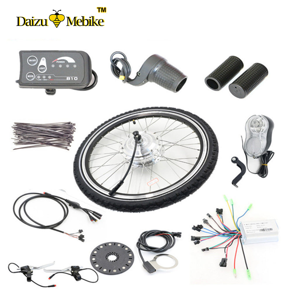 Free Shipping 250W-500W high power electric bike electric bicycle motor kit  LCD display with tyre