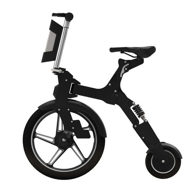 High quality adult Electric Folding Bike with USB Interface 36V lithium battery 250W motor MINI Q quick release portable ebike - Trivoshop