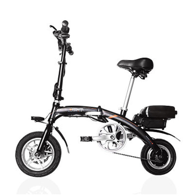 12 inch folding electric bike Light intelligent electric bicycle Removable battery electric bike mini electric folding bicycle - Trivoshop.com