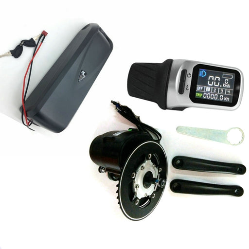 Tongsheng TSDZ2 Mid Drive Motor DIY ebike Kit,Torque Sensor 36V 350W High Speed Electric Bike Engine With Battery 36V 12.5Ah