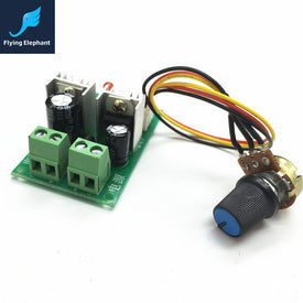 PWM DC Motor Speed Controller 3A 12V-24V-36V One-Way Speed Governor For Lamp Control - Trivoshop