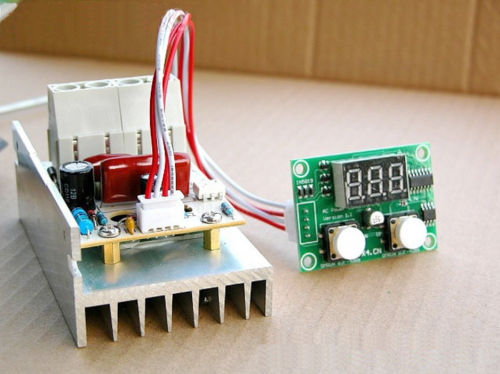 Voltage Regulator Speed Control Motor