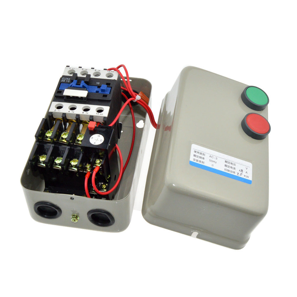 Three Phase Magnetic Starter Motor Controller