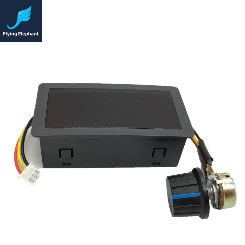0-100% PWM Digital Display DC Motor Speed Controller 6V 12V 24V Stepless Switch Controller Retail Hot Sale! - Trivoshop.com