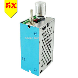 Ship From USA -5pcs/lot DC Motor Speed Controller Reversible Driver Adjustable Switch PWM 120W 12V-40V(max) 3A HHO Reversing - Trivoshop