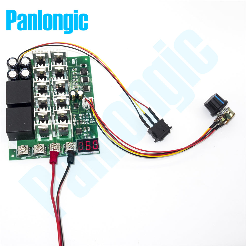 Reversible Dc Motor Speed Controller Shop For Electronic Gadgets 12v Circuit With Explanation 10 55v 60a 3000w Pwm Control 24v 36v 48v