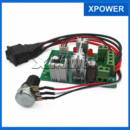 Free shipping PWM CCM6N DC Motor Speed Controller Positive Inversion Switch Controller 6A 6V 12V 24V 30V
