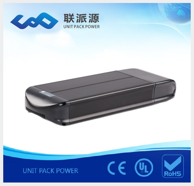 High quality Rear rack 36v 15AH scooter battery ebike battery