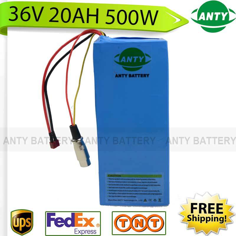 Scooter Battery 36v 20Ah 500W eBike Battery 36V with 42v 2A charger,15A BMS Electric Bike Lithium Battery 36v Fast Shipping - Trivoshop