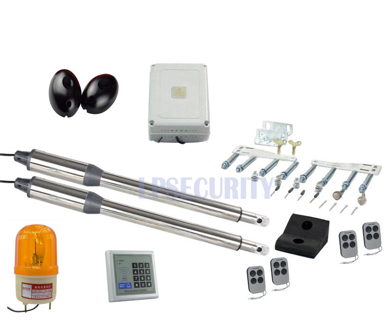 Automatic Dual Swing Gate Opener kit
