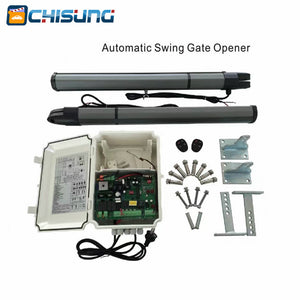 03 model Complete Set of Double-leaf Gate Type Swing Gate Opener With Control Box and Remote Control - Trivoshop.com