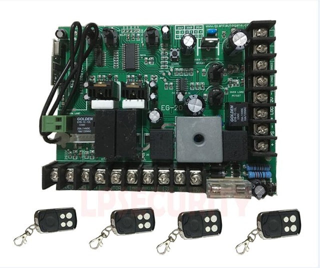 motherboard PCB motor controller circuit board card for swing gate opener motor 24VDC input power(remote control optional)