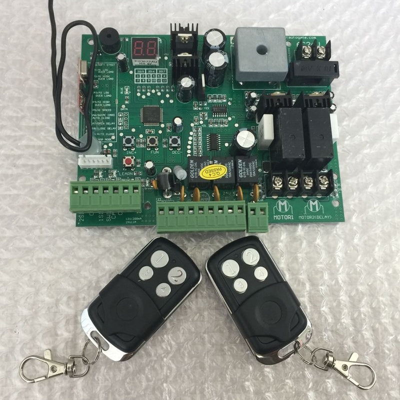 Remote controls Swing Gate Opener motor Controller