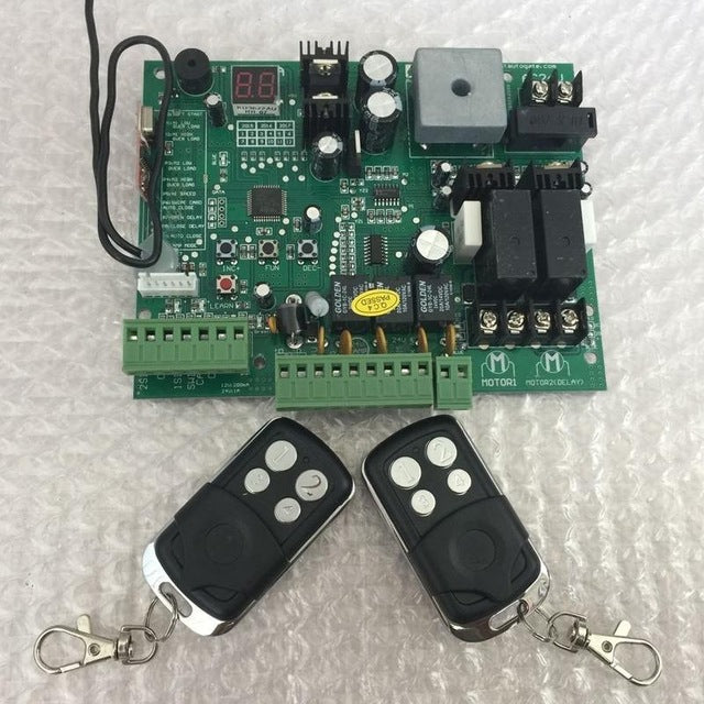 Remote controls Swing Gate Opener motor Controller - Trivoshop