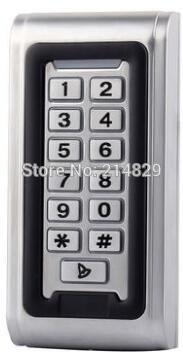 Metal Keypad RFID Card Reader keypad Door Access Control  for sliding / swing gate opener