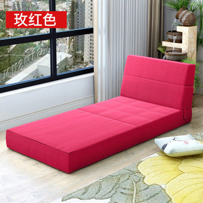 Minimalist modern Living Room Sofas Living Room Furniture Home Furniture one seat Sofa bed foldable portable 200*72*15 CM 2017