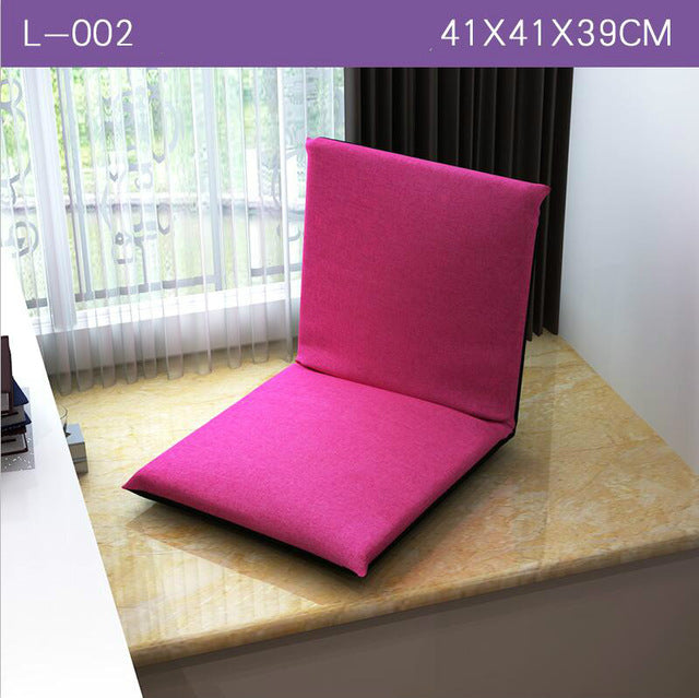 Lazy sofa folding single bed tatami sofa chair table of modern students