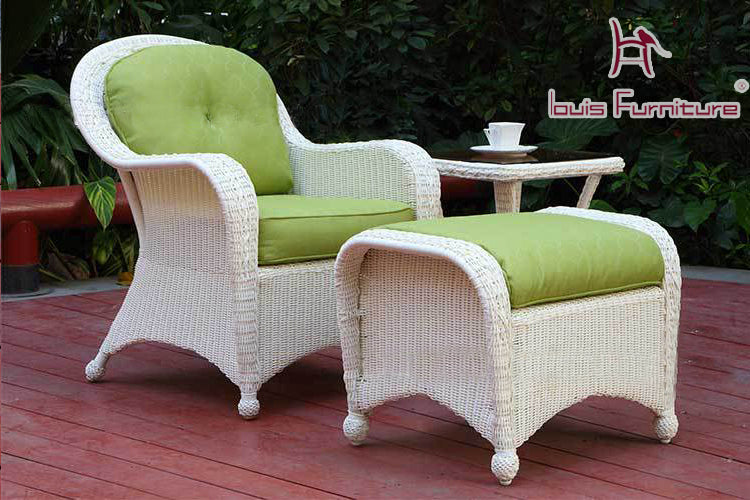 The high-end garden style outdoor rattan chair sofa single modern fashion - Trivoshop