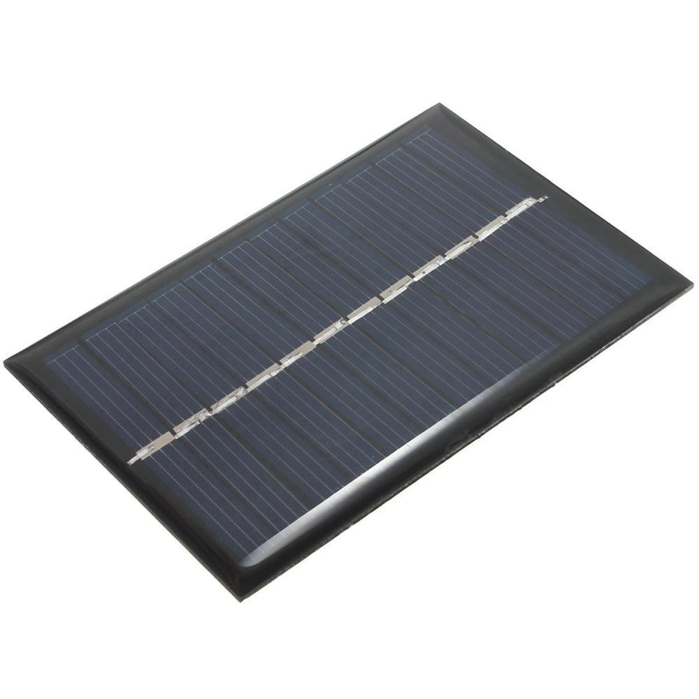 MVpower 6V 0.6W Solar Power Panel Poly DIY Small Cell Charger For Light Battery Phone Toy Portable Drop Shipping