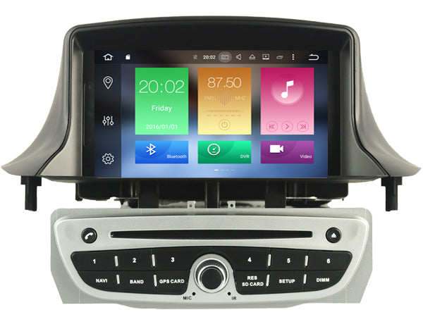 "1024*600LCD Octa Core Android 6.0 2GB RAM car dvd player For 7"" RENAULT Megane II/Fluence 2009-2011 gps navigation head units 3G - Trivoshop.com"
