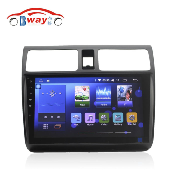 "Free shipping 10.2"" Quadcore Android 6.0.1 car radio for Suzuki Swift car video player with 1 G RAM,16G iNand,steering wheel"